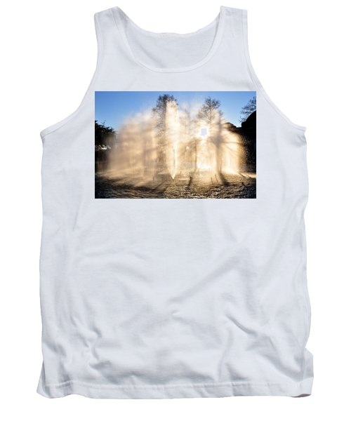 Tank Top featuring the photograph Shadow Play by Charlotte Schafer