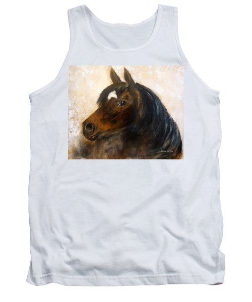 Tank Top featuring the painting Shadow by Barbie Batson