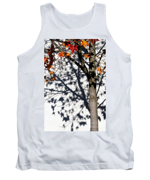 Tank Top featuring the photograph Shadows Of Fall by CML Brown