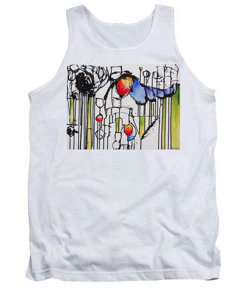 Tank Top featuring the painting Sharpened Perception by Jason Williamson