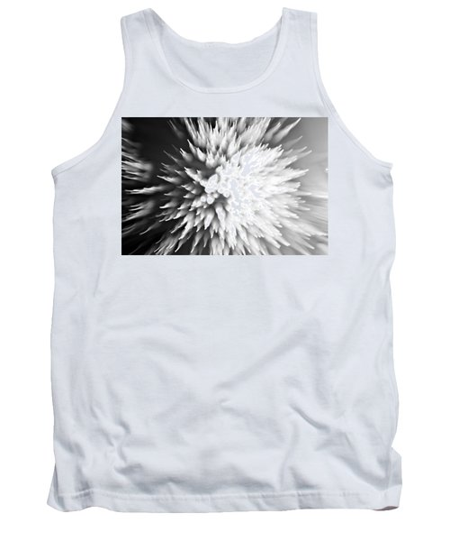 Tank Top featuring the photograph Shattered by Dazzle Zazz