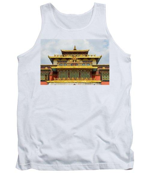 Shechen Monastery In Kathmandu Tank Top