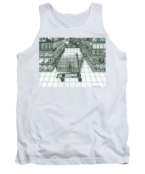 Shop And Slave Tank Top
