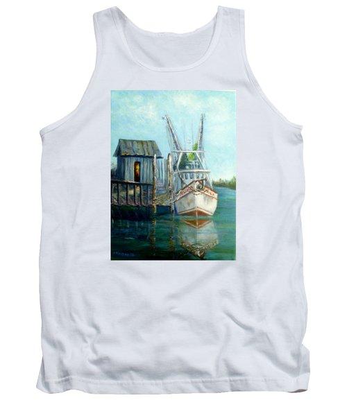 Shrimp Boat Paintings Tank Top