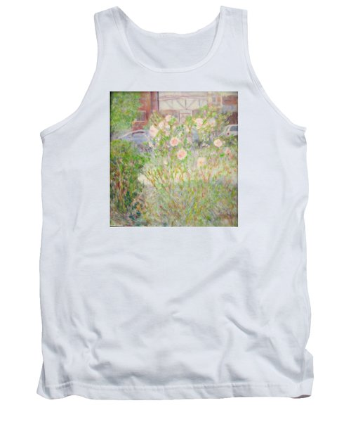 Sidewalk Flowers In Chicago Tank Top