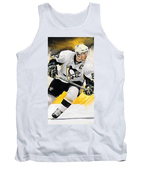 Sidney Crosby Artwork Tank Top