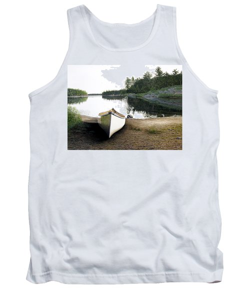 Silent Retreat Tank Top