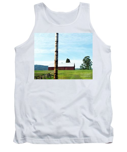 Tank Top featuring the photograph Simplicity by Bobbee Rickard