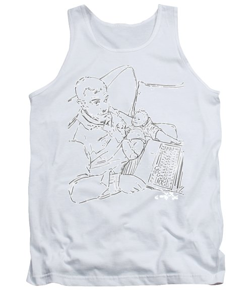 Sing Me To Sleep Daddy Tank Top