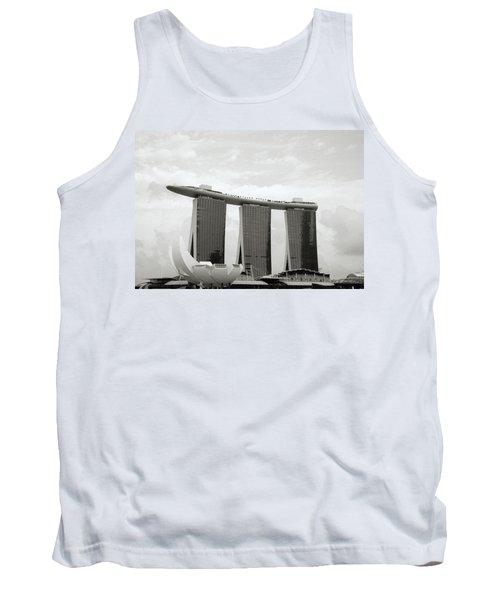 Singapore Skyline Tank Top