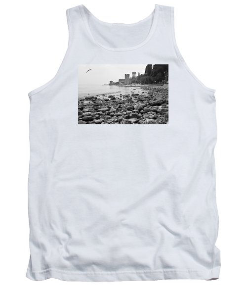 Tank Top featuring the photograph Sirmione Castle by Simona Ghidini