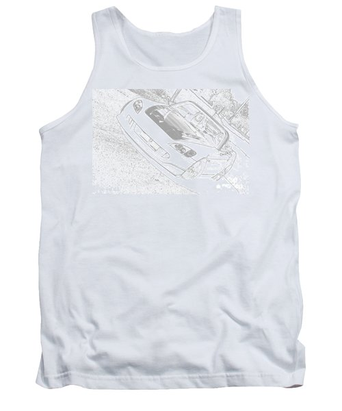 Sketched S2000 Tank Top by Eric Liller