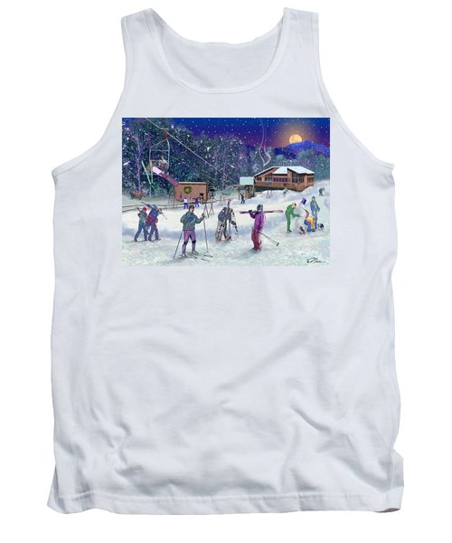 Ski Area Campton Mountain Tank Top
