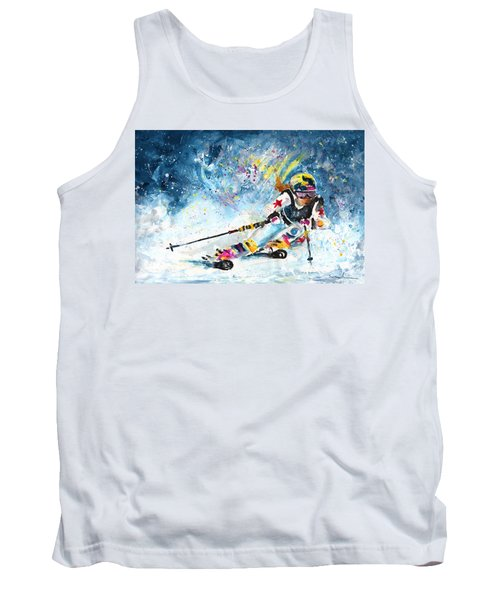 Skiing 03 Tank Top