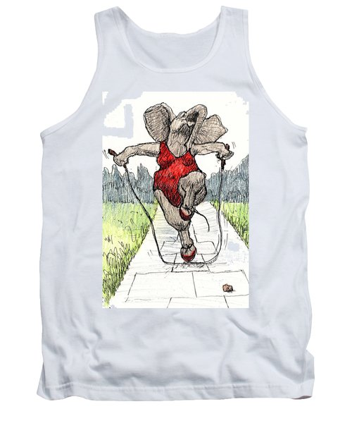 Skipping Rope Tank Top