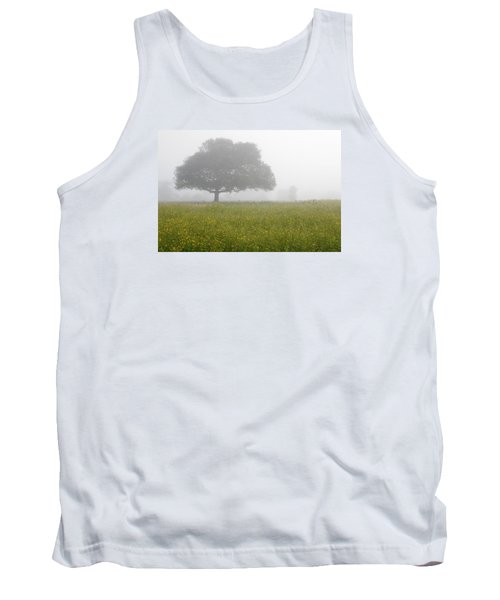 Tank Top featuring the photograph Skc 0056 Tree In Fog by Sunil Kapadia