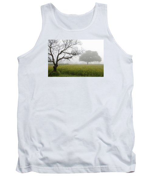 Skc 0058 Contrasty Trees Tank Top