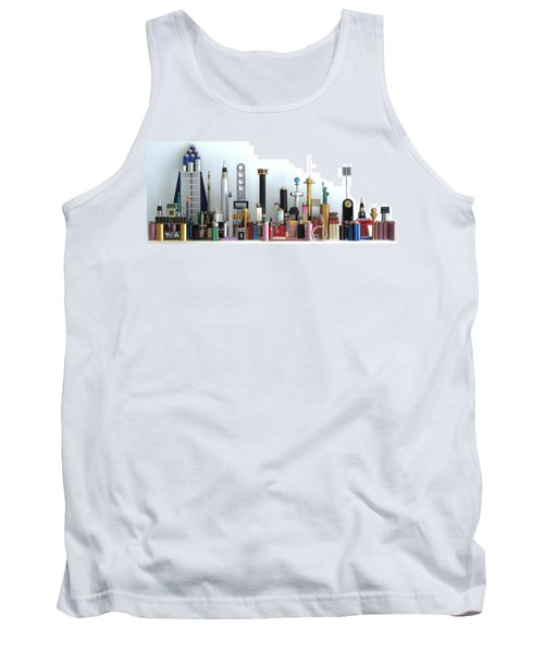Skyline Sculpture Tank Top