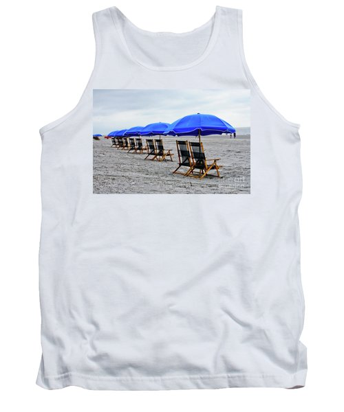 Slow Day At The  Beach Tank Top