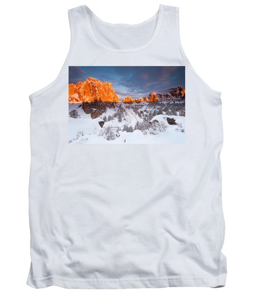 Smith Rock Snow Storm Tank Top