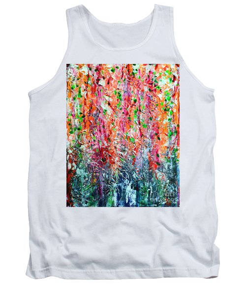 Snapdragons II Tank Top by Alys Caviness-Gober