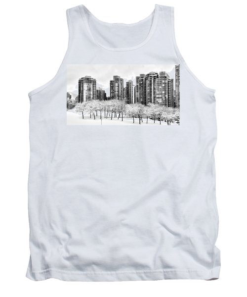 Snow In The City Tank Top
