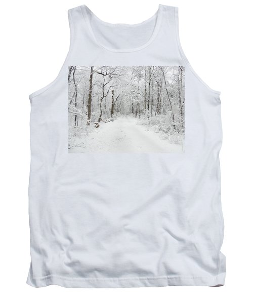 Snow In The Park Tank Top by Raymond Salani III