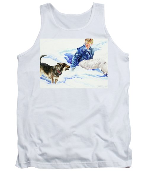 Snow Play Sadie And Andrew Tank Top