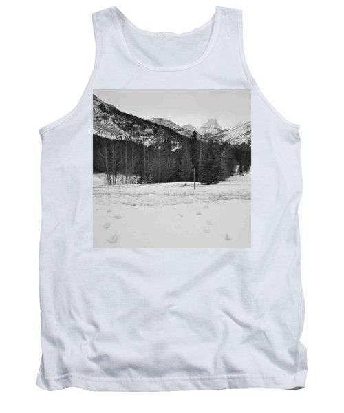 Snow Prints Tank Top