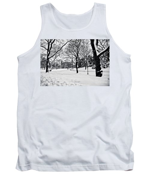 Snow Scene  Tank Top by Madeline Ellis
