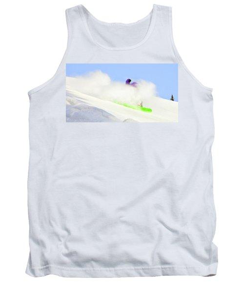 Snow Spray Tank Top