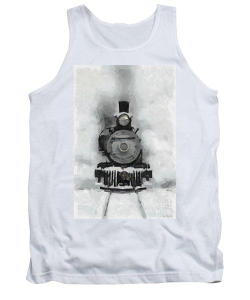 Snow Train Tank Top