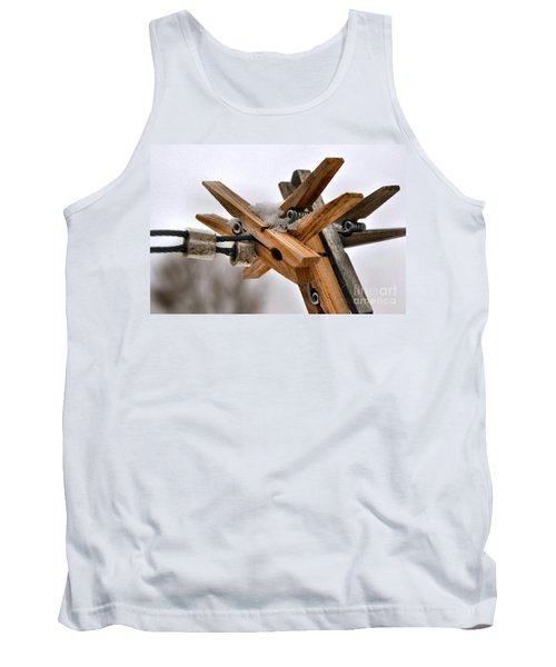 Winter Laundry Day Tank Top