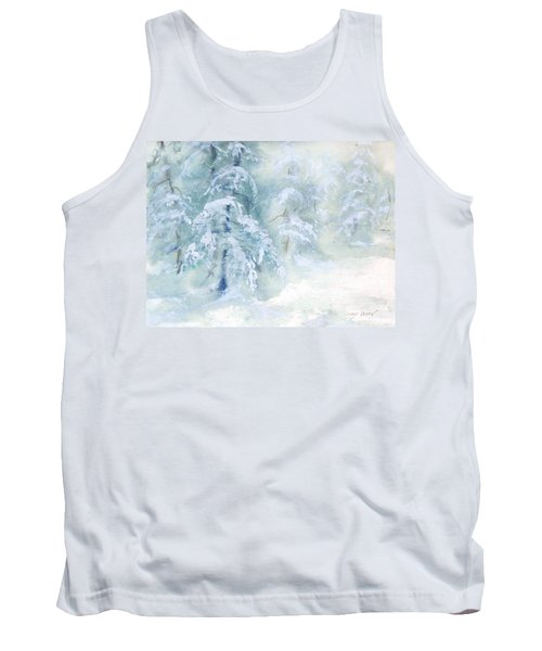 Snowstorm Tank Top by Joy Nichols
