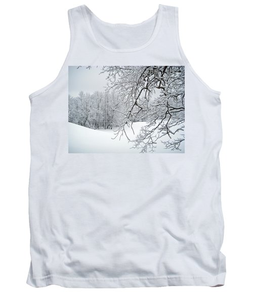 Snowy Branches Tank Top