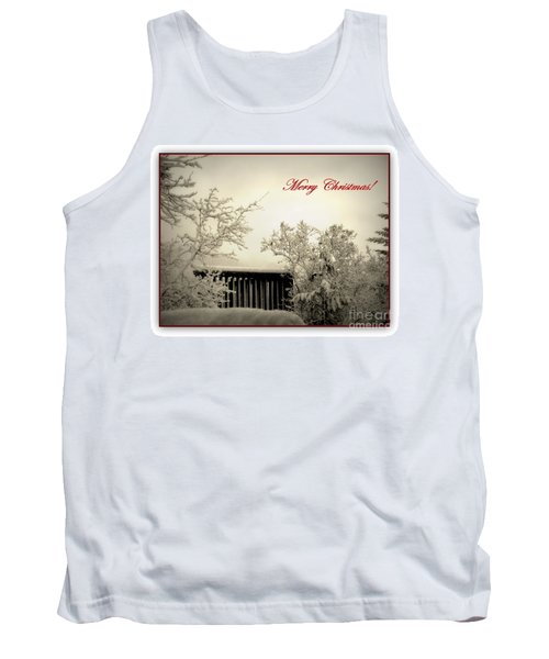 Snowy Christmas Tank Top