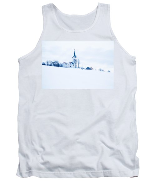 Snowy Church Tank Top