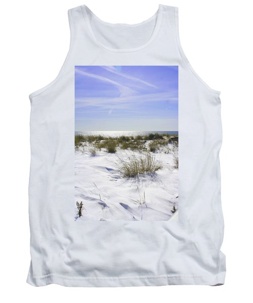 Snowy Dunes Tank Top