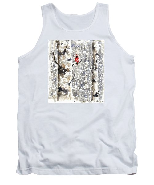 Snowy Hello Tank Top