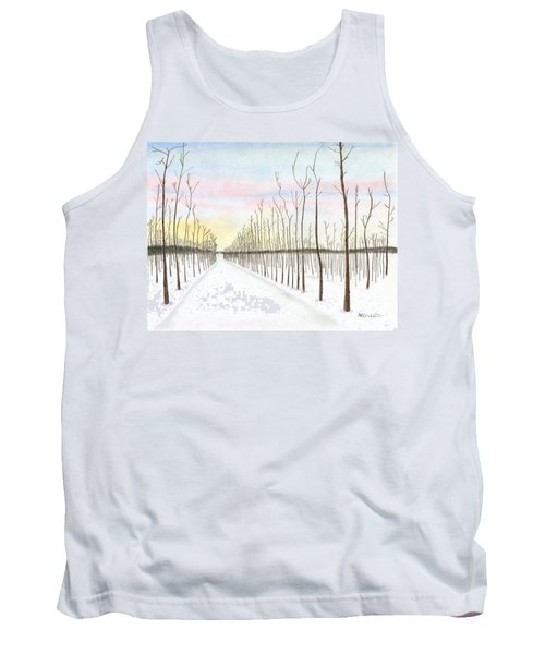 Snowy Lane Tank Top
