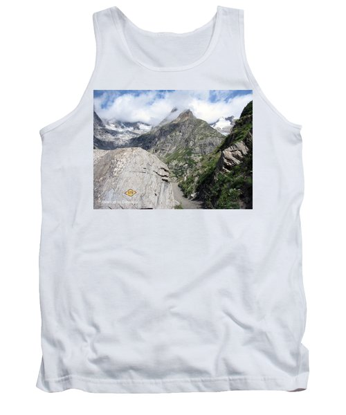 Snowy Mountains Tank Top