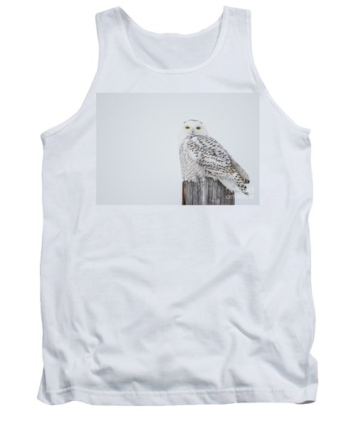 Snowy Owl Perfection Tank Top
