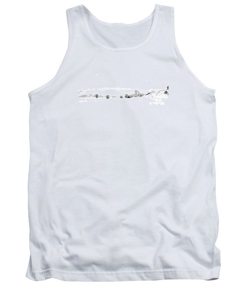 Tank Top featuring the photograph Snowy Panorama by Liz Leyden