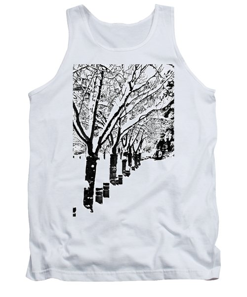 Snowy Walk Tank Top