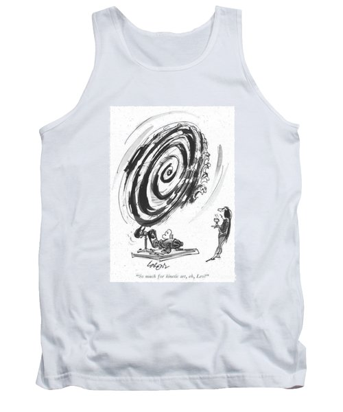 So Much For Kinetic Art Tank Top