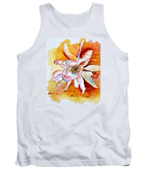 Tank Top featuring the painting So The Wind Won't Blow It All Away by Beverley Harper Tinsley