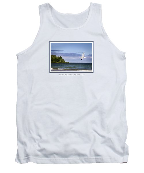 Soaring Over Door County Tank Top by Barbara Smith