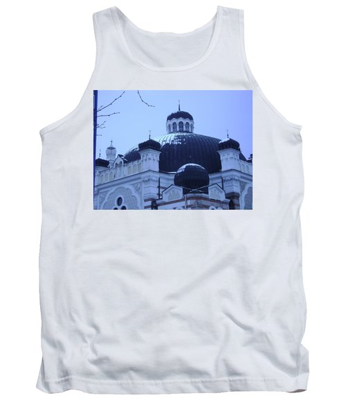 Sofia Synagogue In Bulgaria Tank Top