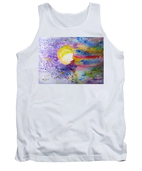 Solar Flair Tank Top by Desiree Paquette