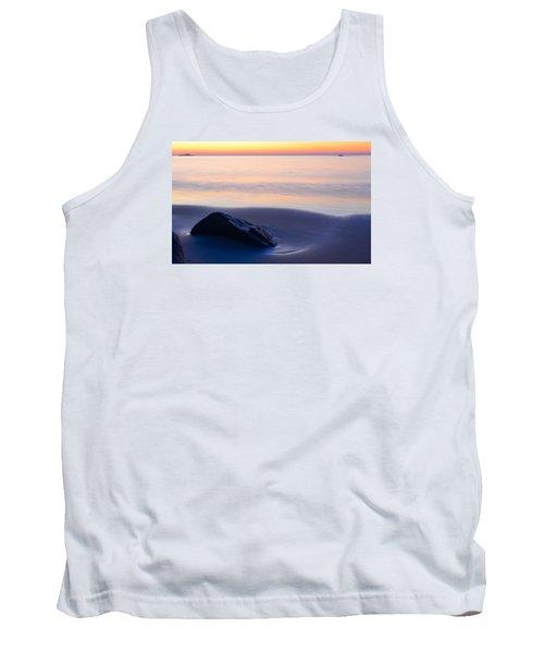 Solitude Singing Beach Tank Top by Michael Hubley